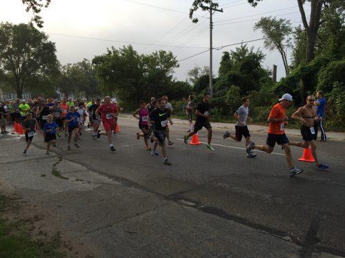Run for Sight runners
